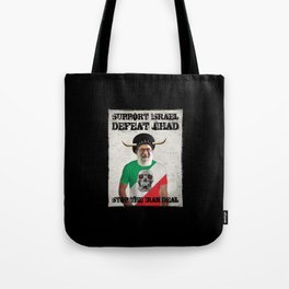 Stop The Iran Deal Tote Bag