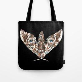Face Mimic Moth Tote Bag