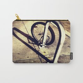 Bicycle Street Heart Carry-All Pouch