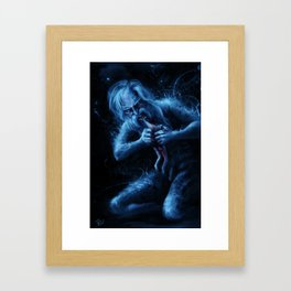 Saturn Devouring His Young (After Goya) Framed Art Print