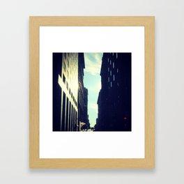 In between MTL Framed Art Print