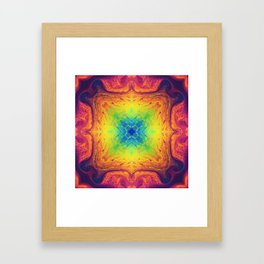 Psychedelic Two Framed Art Print