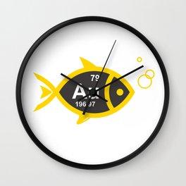 GoldFish Wall Clock