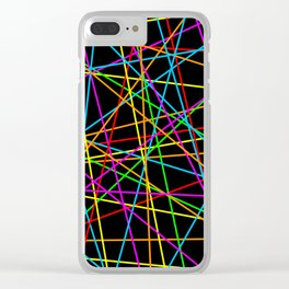 Lasers Clear iPhone Case
