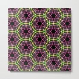 Abstract Circles Metal Print