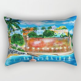 La Fortaleza, Old San Juan, Puerto Rico Rectangular Pillow