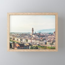 Florence, Italy Panorama Framed Mini Art Print
