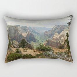 Above Zion Canyon Rectangular Pillow