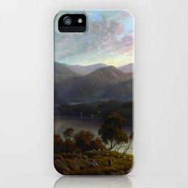John Glover Landscape View in Cumberland iPhone Case