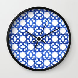 Geometric Pattern - Oriental Design rmx Wall Clock