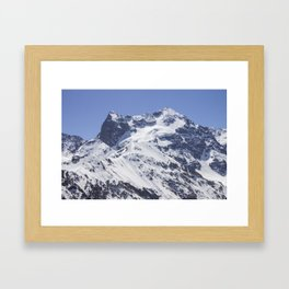 Morado Mountain Framed Art Print