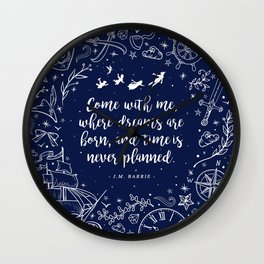 Where dreams are born Wall Clock