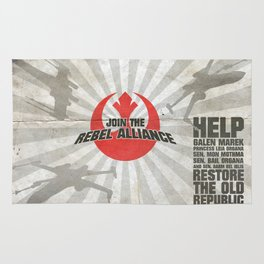 Join the Rebel Alliance Rug
