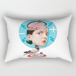Bird Brain Rectangular Pillow