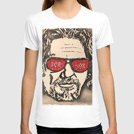 """The Dude Abides"" featuring The Big Lebowski T-shirt"