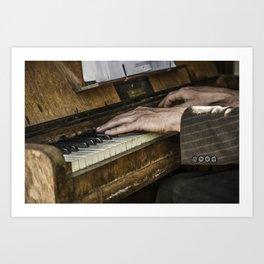 Old Hands...Gypsy Hands Art Print