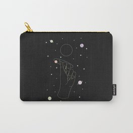 Rebirth - Moon Phase Illustration Carry-All Pouch