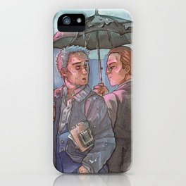 Don't go Home just Now [Mystrade] iPhone Case