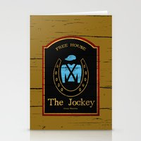 shameless Stationery Cards featuring The Jockey - Shameless by Jim T