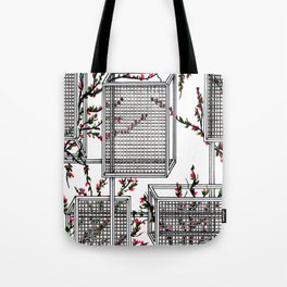 geo spring Tote Bag
