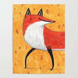 Sassy Little Fox Poster
