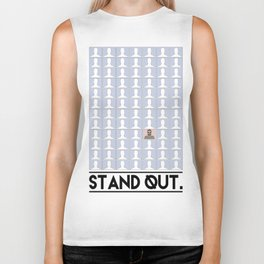Stand Out. Biker Tank