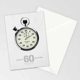 Gone in 60 Seconds - Alternative Movie Poster Stationery Cards