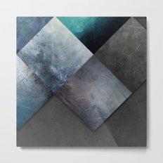 Corners And Triangles Metal Print