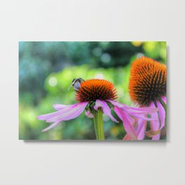 Nature's Worker Metal Print