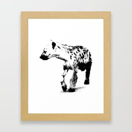 9 Framed Art Print