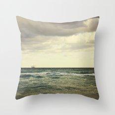 Barge Throw Pillow