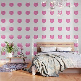 Vegan Cat Lady Wallpaper