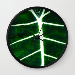 Emerald Elephant Wall Clock