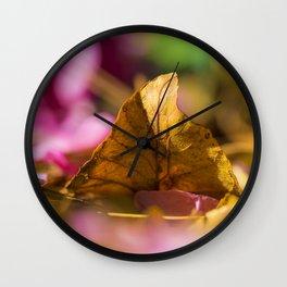 NATURAL FLAVOR Wall Clock