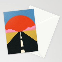 Road To Sun Stationery Cards