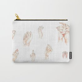 Many Hands Carry-All Pouch