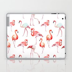 Flamingo Pink Bird Pattern Laptop & iPad Skin