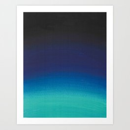Blue Haze Art Print