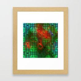 Shambala Matrix by Kenny Rego Framed Art Print