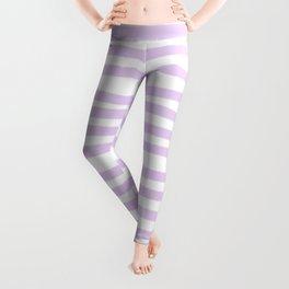 Lilac Stripes Horizontal Leggings