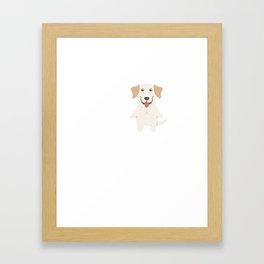 Love Labrador Retriever Framed Art Print
