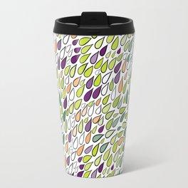 Rainy day pattern. Spring version Travel Mug