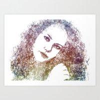 Caer Ibormeith 2 Art Print