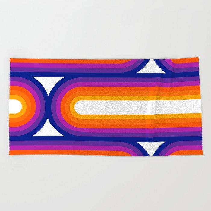 Side Bow Beach Towel