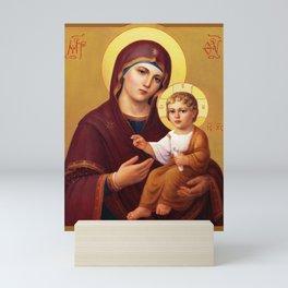 Our Lady of the Way - Virgin Hodegetria Mini Art Print