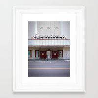 american Framed Art Prints featuring American by Jon Cain