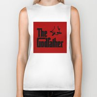 godfather Biker Tanks featuring The Godfather by SwanniePhotoArt