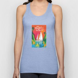 Advertures of SV Delos Unisex Tank Top