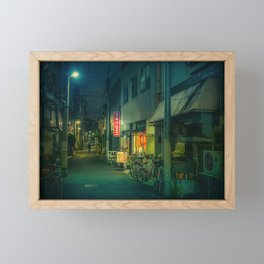 You're Not Alone/ Japan Photo Night Framed Mini Art Print