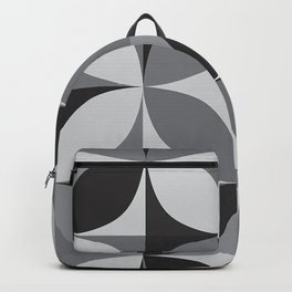 Retro pattern geometric Backpack